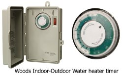 Small Of Water Heater Timer