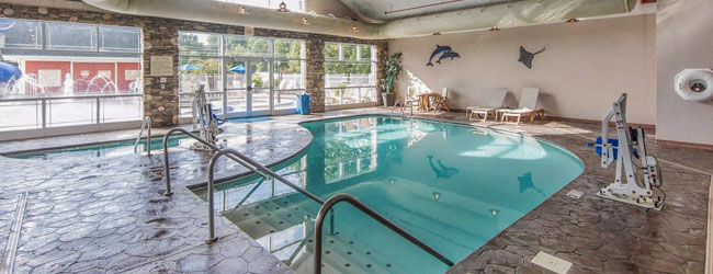 Clarion Inn Pigeon Forge Indoor Heated Pool and Hot Tub wide