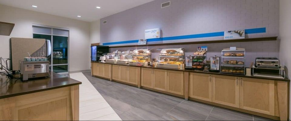 Free Continental Breakfast Bar at the Holiday Inn Express Gatlinburg Downtown 960