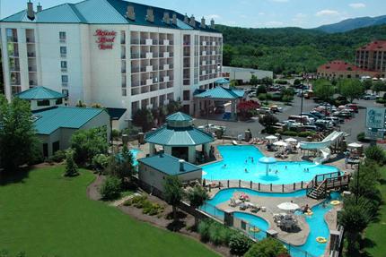 Orlando Florida Music Road Hotel Waterpark View