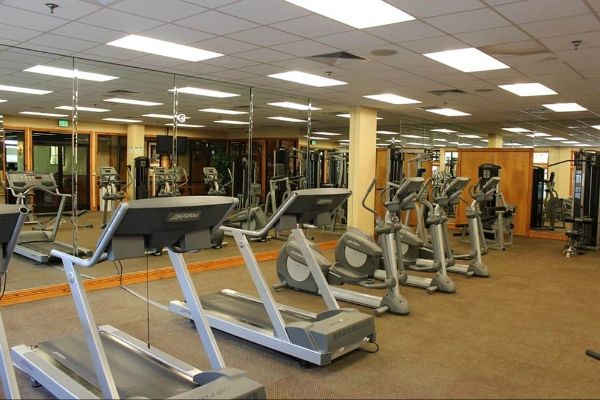 Machines at the Fitness Center Westgate Smoky Mountain Resort