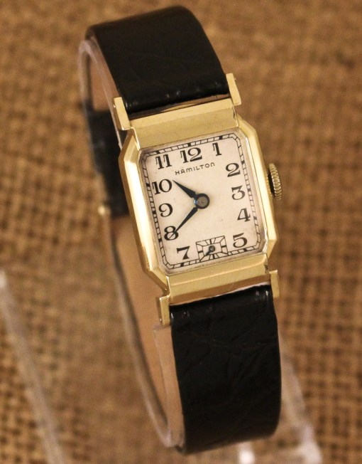 hamilton elliott vintage watch