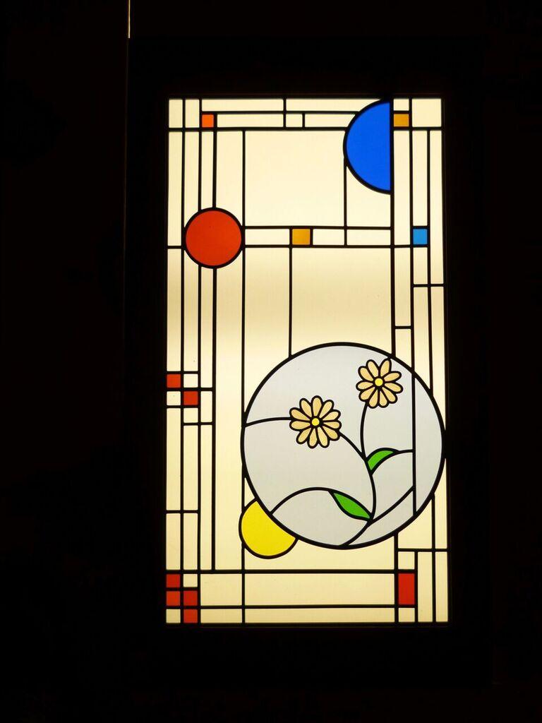 Fullsize Of Frank Lloyd Wright Stained Glass