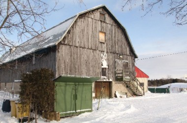 Barn (not accessible)