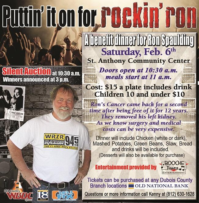 WRZR Rockin Ron Benefit
