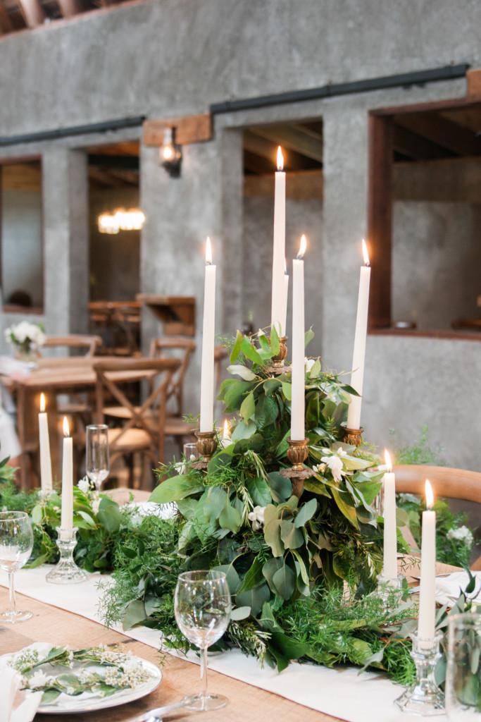 Overlook Barn NC Wedding Venue - Table Decor