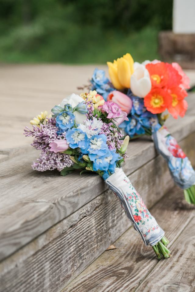 White Fence Farm Wedding - DIY Bouquet