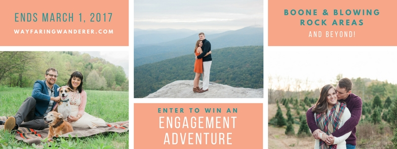 Engagement Photographer Boone NC