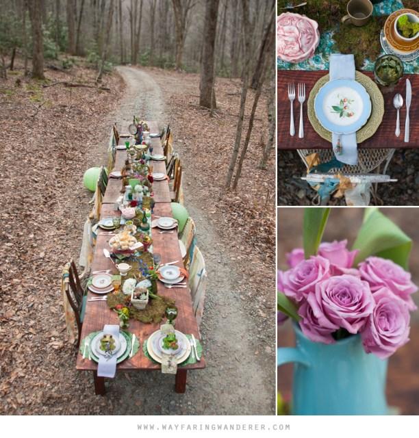 Alice in Wonderland Wedding Styled Shoot by Wayfaring Wanderer | www.wayfaringwanderer.com