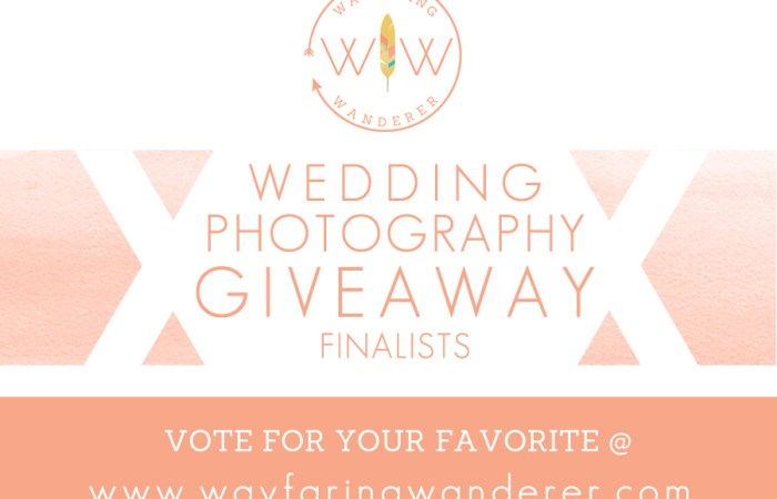 Wedding Photography Giveaway FINALISTS Hosted by Boone NC Photographer Wayfaring Wanderer