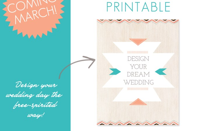 Sneak Peek: Design Your Dream Wedding Planner Printable Designed by Boone Photographer Wayfaring Wanderer
