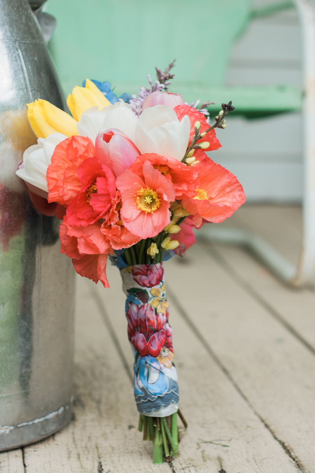White Fence Farm Wedding - DIY Bouquet
