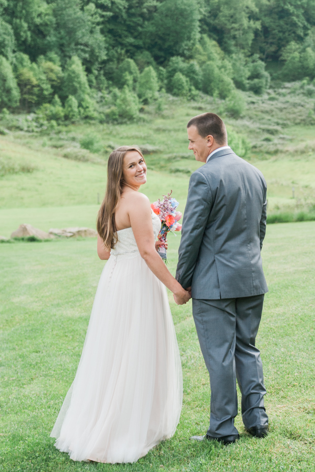 White Fence Farm Wedding - Bride & Groom Photos