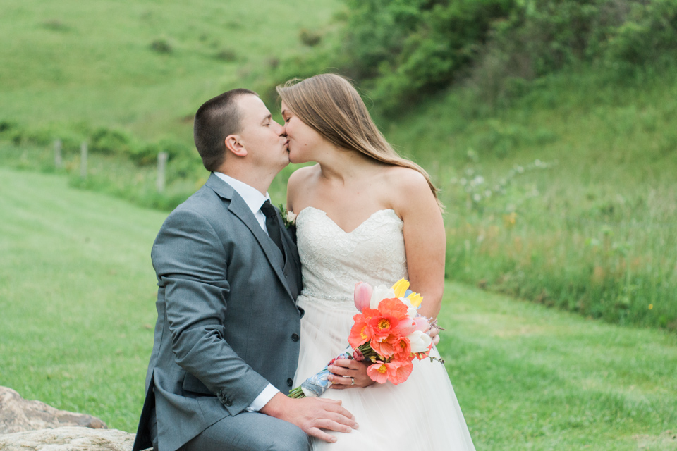 White Fence Farm Wedding - Bride & Groom Photo