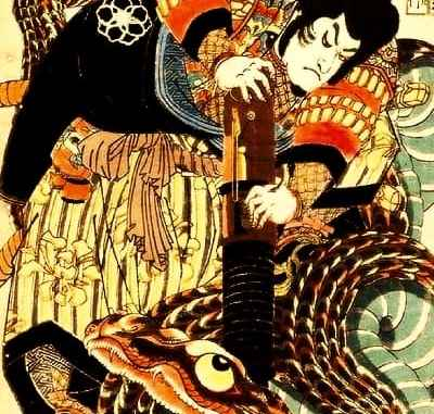 Japanese Ninja Folklore: Tale of The Gallant Jiraiya