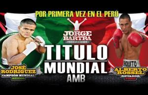 Perú - WBA - AMB - Boxing