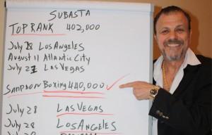 Sampson Boxing LLC montará la Caballero vs García