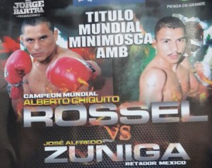 "Alberto ""Chiquito"" Rossel vs José Alfredo Zúñiga poster"