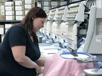 Embroidery Worker WCBA Pittsburgh