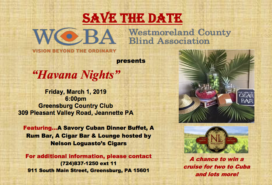 2019 WCBA Spring Gala save the date.