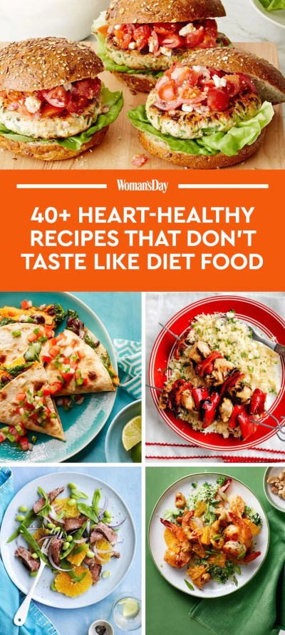 55 Heart-Healthy Dinner Recipes That Don't Taste Like Diet Food - Heart Healthy Meals
