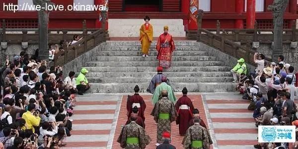 琉球王朝祭り首里 古式行列