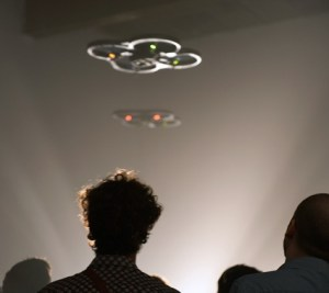A dystopian performance for drones