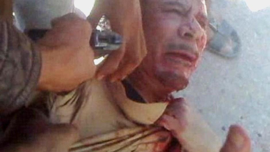 Famous Deaths Khadaffi