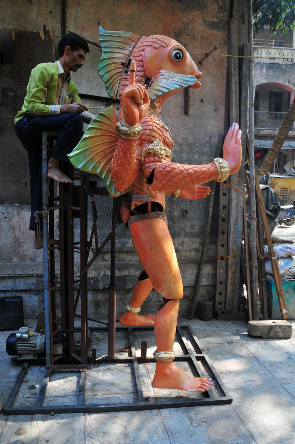 """Conception Ankush Bhaikar pour l'exposition """"Persona. Étrangement humain"""""""