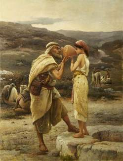 extra-mile girl, a wife for Isaac, bride for Isaac, Eliezer, eliezer servant of Abraham, Genesis 23, Genesis 24, Michael Didier Torah teacher, Rebekah daughter of Bethuel, bride for Isaac