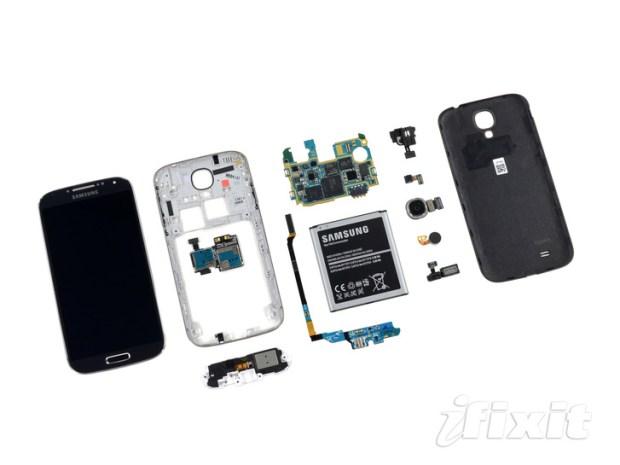 le Samsung Galaxy S4 demonte