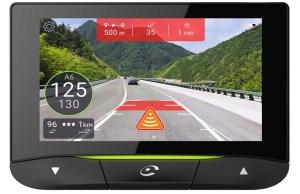 Sauvegarde automatique des 5 dernières minutes en cas de choc Écran tactile de 4 pouces et reconnaissance vocale Affichage des alertes en mode réalité augmentée Nouveau : Mes Stats Coyote, un journal de bord personnalisé