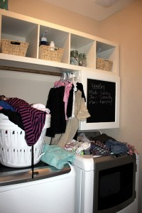 WFMW: Mini Laundry Room Makeover #MaytagMom