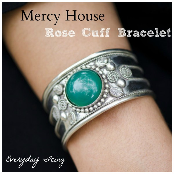 rose cuff bracelet