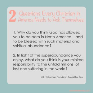 The Two Questions Every Christian Must Ask Themselves