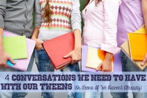 Row of students