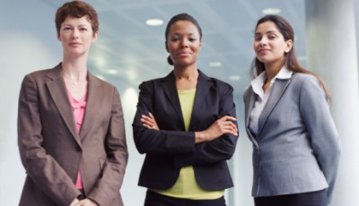 Three office Women