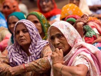 Elderly Indian women