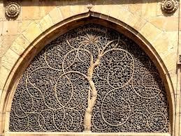 Gujarat Sidi Sayed Jali in a Mosque