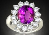 An amethyst ring from Gemstoneuniverse