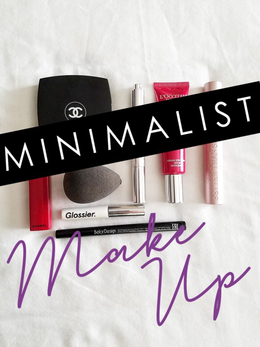 minimalist makeup no makeup