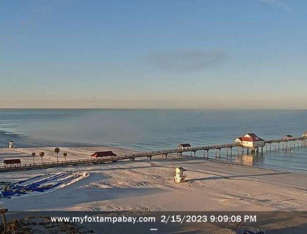 clearwater beach cam pier 60 view