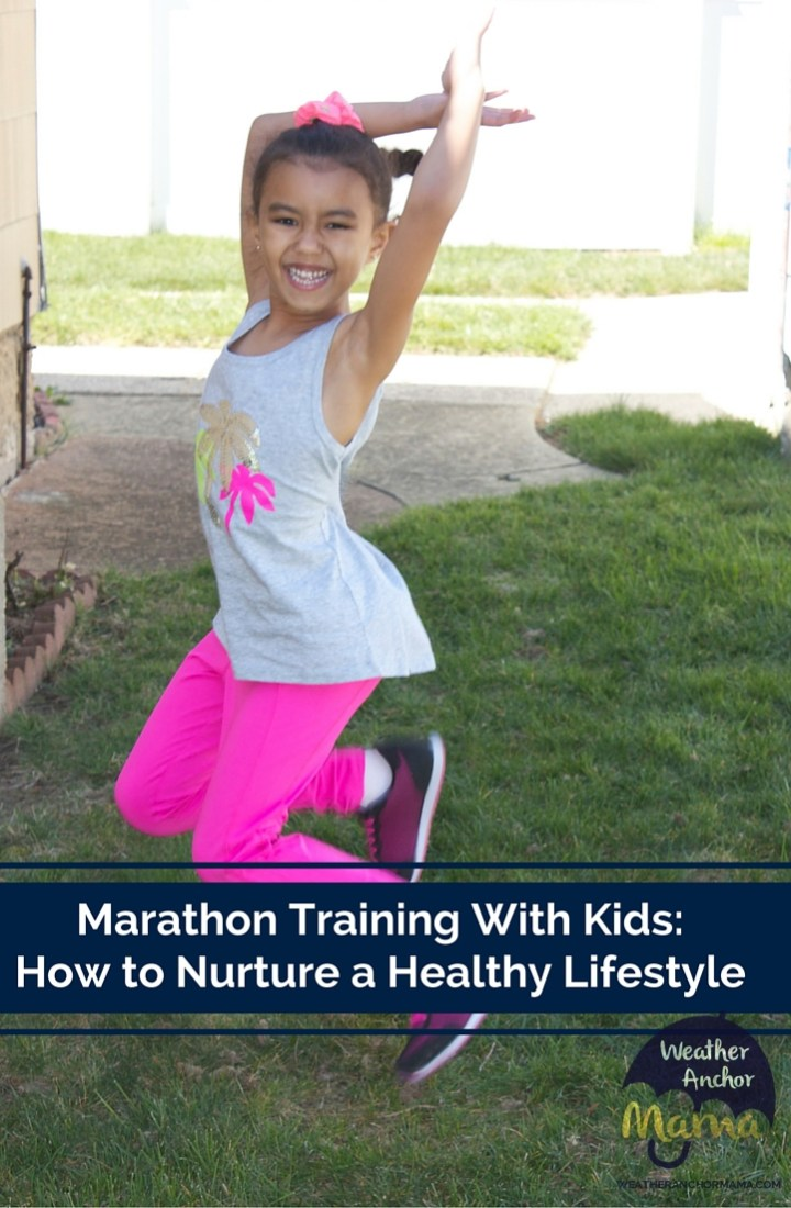 Marathon Training With Kids: How to Nurture a Healthy Lifestyle