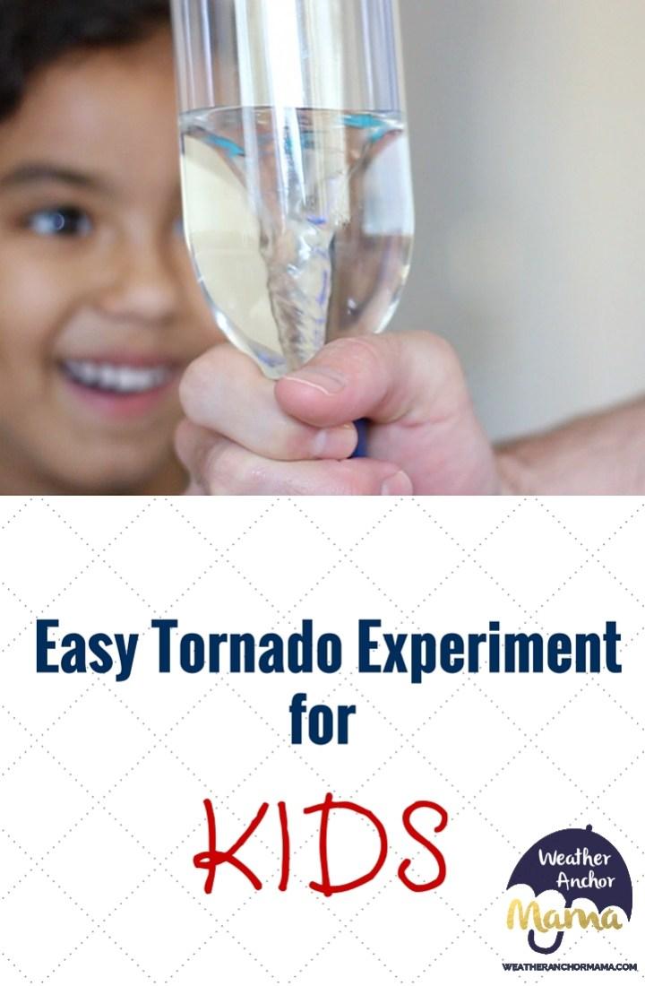 Easy Tornado Experiment for Kids