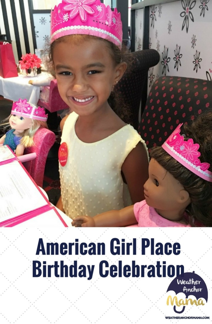 American Girl Place Birthday Celebration