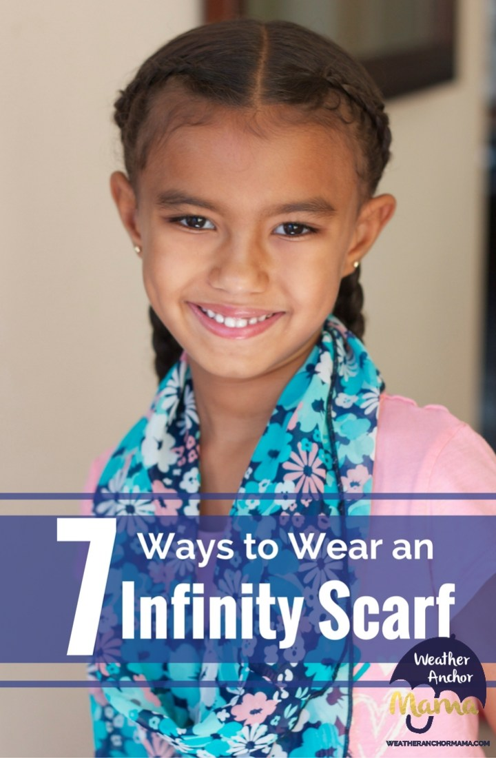 7 Ways to Wear an Infinity Scarf