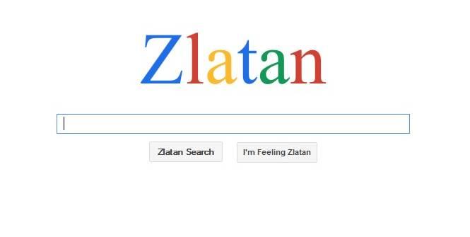 Zlatan un moteur de recherche