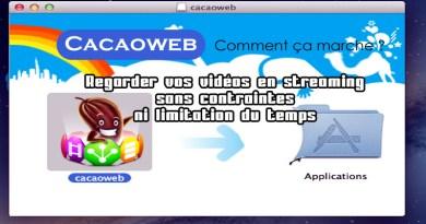 Cacaoweb comment ça marche : Regarder vos vidéos en streaming sans contraintes ni limitation du temps