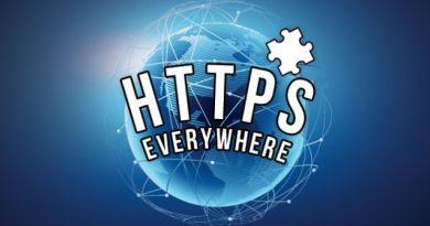 L'HTTPS Everywhere s'éteint avec un truc bizarre!