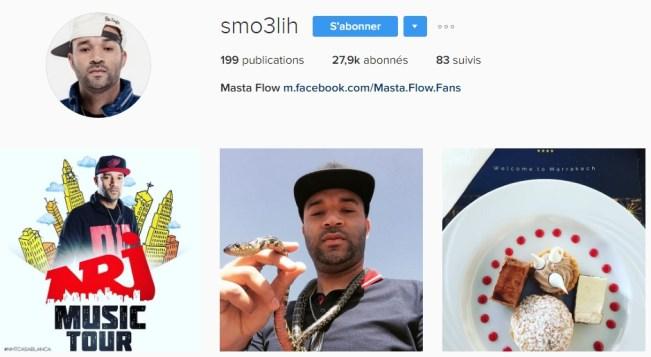 Instagram de Masta Flow - Rap Maroc 2017